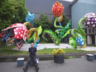 松本市美術館 入り口