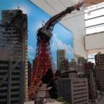 特撮でよく壊される東京タワー